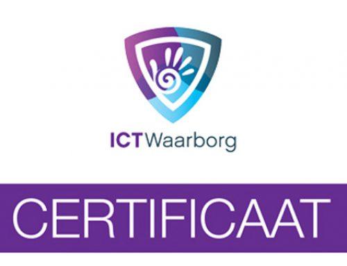 Certificaat ICTWaarborg 2014 voor REDMIJNPC